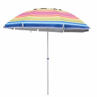 Alu beach umbrella with wind resistant   BU1921