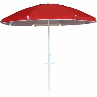Alu beach umbrella with tilt with anchor with with tassel   BU1928-1