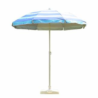 Alu beach umbrella with tilt  BU1911