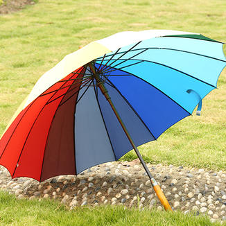 Striaght rainbow umbrella  GB18139