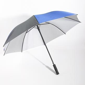 Straight rain umbrella with UV protection RU1941