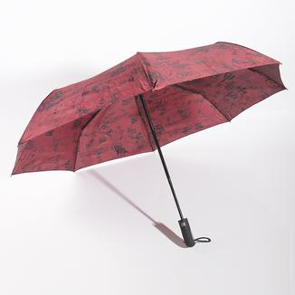 Printed 3 fold umbrella RU1945