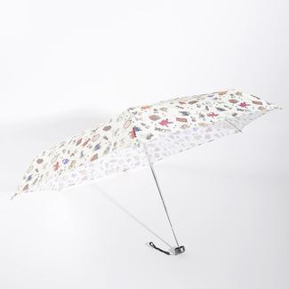 Mini 5 fold umbrella packed in bear bag RU1952