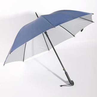 Straight umbrella UV protection with plastic handle RU1954