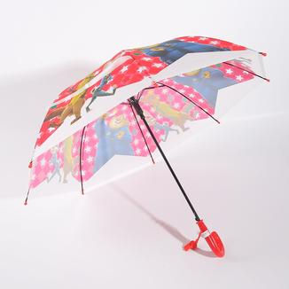 Straight umbrella for kids with whistle RU1955