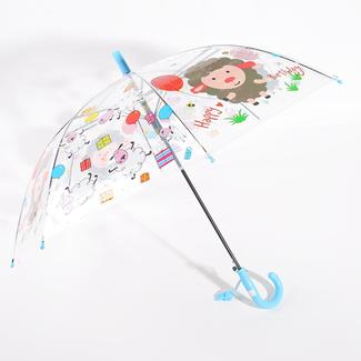 Children animal umbrella in PVC with whistle RU1959