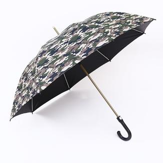 Straight umbrella in camouflage style RU1974