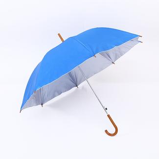 Wooden hook straight umbrella with UV protection RU1979