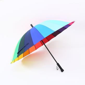 24K rainbow straight strong umbrella RU1996