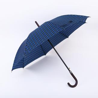 Male use straight umbrella with hook handle RU19110