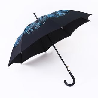 Straight umbrella printed outside RU19113